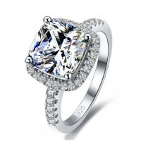 925 Sterling Silver Wedding Engagement Rings